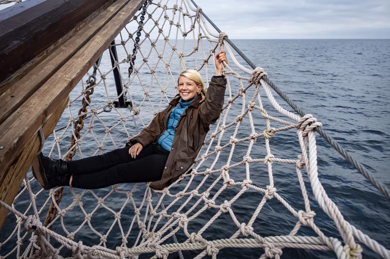 - Meri on aina kiehtonut minua, kertoo Julia Autio. Kaljaasi Ansio kuljetti hänet käymään Maakallassa vielä viimeisen kerran tänä kesänä.