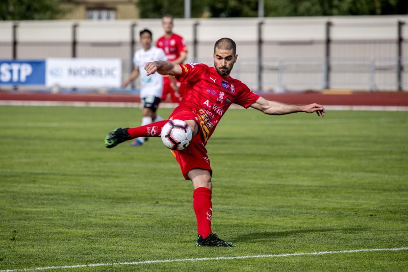 Jaro-puolustaja Pavle Milosavljevic oli iloinen siitä, että joukkueen nuoret avasivat maalitilinsä.
