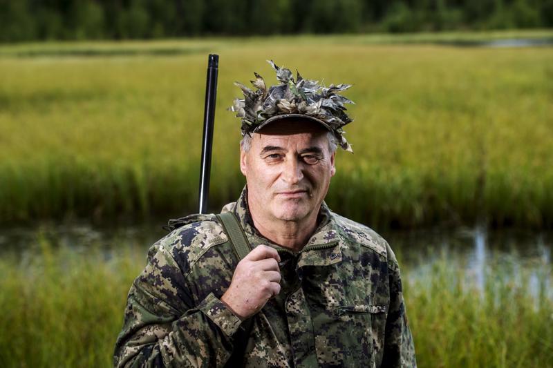 Mikko Erkkilä on metsästänyt vuodesta 1973.