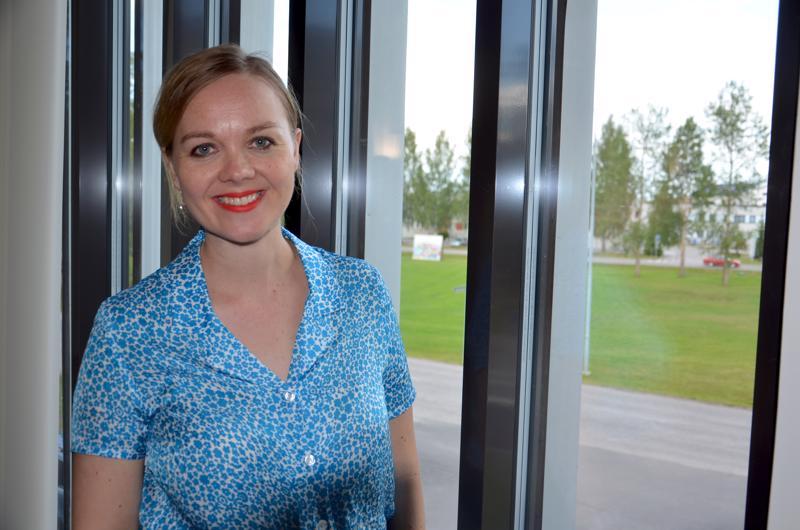 Elinkeinoministeri Katri Kulmuni (kesk.) vieraili keskiviikkona YIivieskassa ja muuallakin Kalajokilaaksossa.