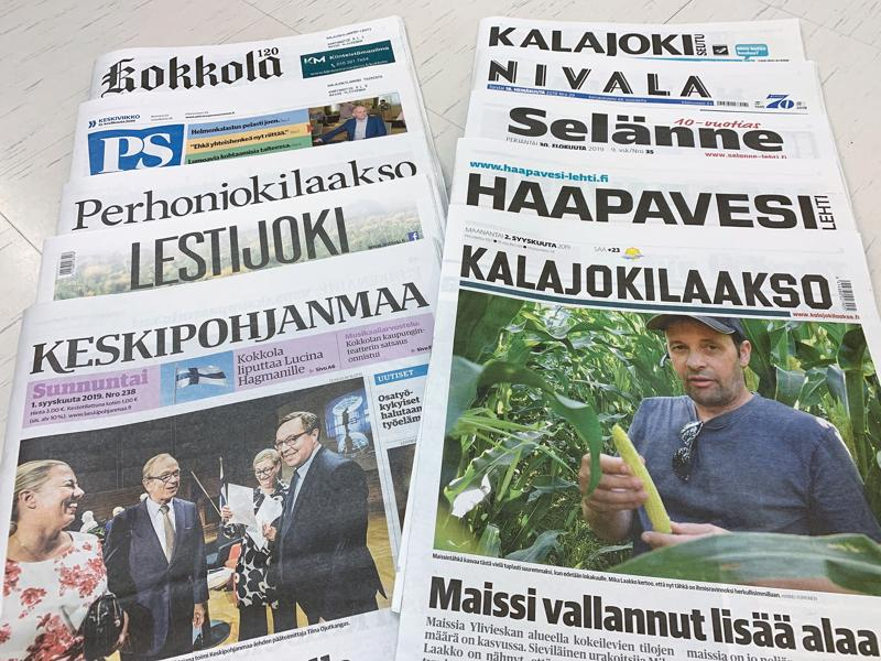 Lakko vaikuttaa etätilattaviin lehtiin. KPK Yhtiöiden näköislehdet ovat lakon vuoksi vapaasti luettavissa.