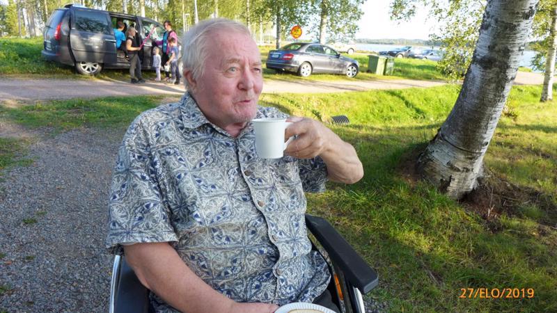 Entisiä klubin jäseniä kutsutaan mukaan tapahtumiin, kuvassa Veikko Taipale.