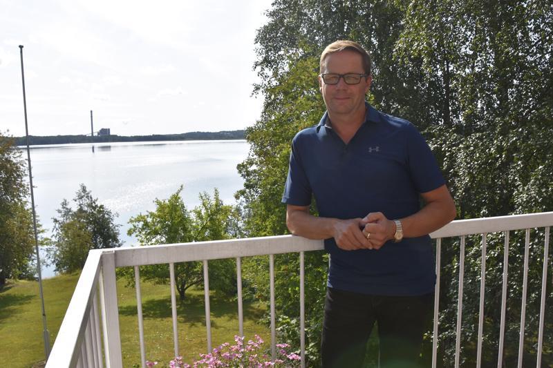 Markku Laitila toimii myös Haapaveden Keskustan kunnallisjärjestön puheenjohtajana.