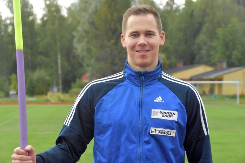 Kälviän Tarmon Jarmo Marttilalla on takana tasaisen hyvä keihäskesä.