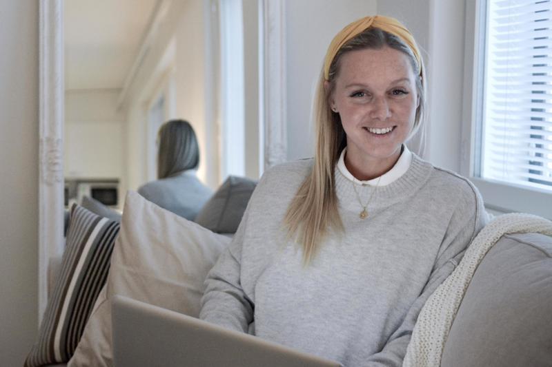 Ammattilaisjalkapalloilijan puolisona 28-vuotias Nina Chydenius on asunut seitsemän vuoden aikana kuudessa eri kaupungissa.
