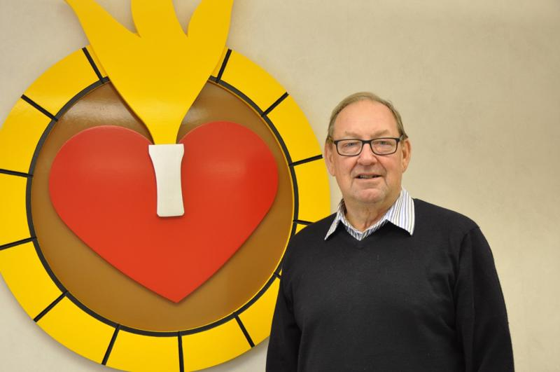 Göran Wennman kiittelee sydänsairauksien hoitoa Kokkolassa mainioksi. – Meillä on kaksi sydänhoitajaa ja Suomen paras sydänlääkäri.