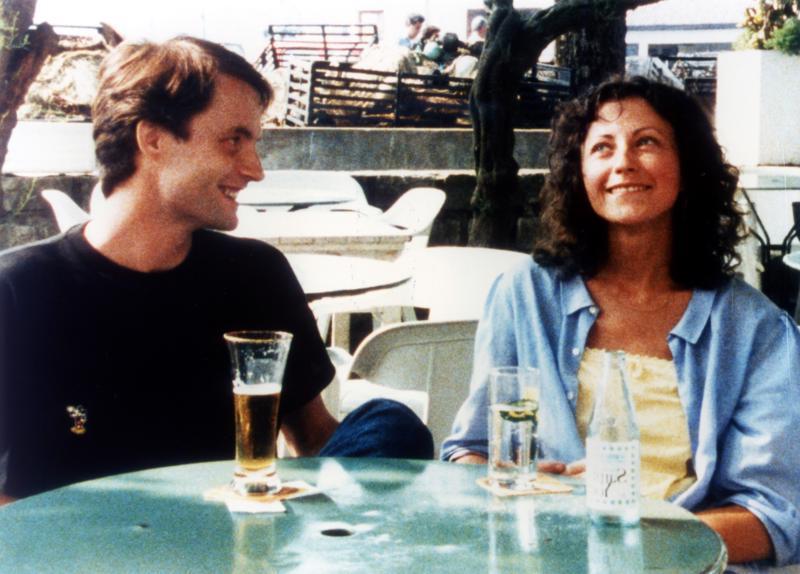Kinojuhlien teemamaa Ranskan elokuvahelmi on kesäkuvaus Vihreä säde tähtinään Marie Rivière ja Vincent Gauthier.