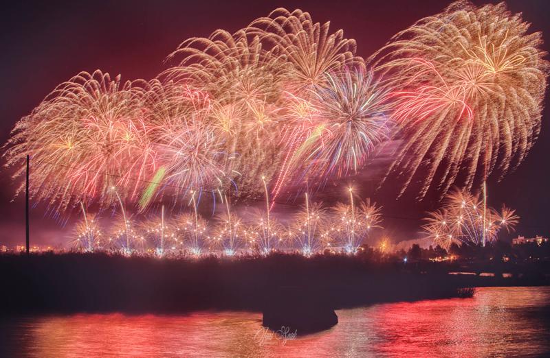 Venetsialaisten juhlintaa Kalajoella.
