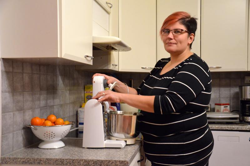 Yhdistysagenttina aloittava Anna Tammelin leipoo usein eri tapahtumiin. Leipomisesta pitävälle ihmiselle se ei ole vaiva eikä mikään.