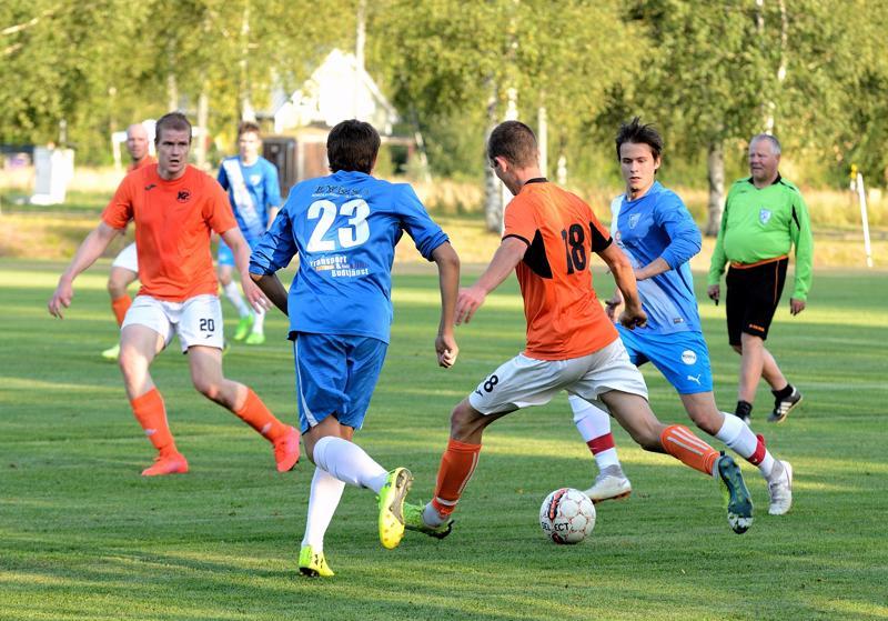 K-Pallon sarjanousu varmistui jo aikaisemmin Pedersören Kolpissa pelatun vierasvoiton myötä.