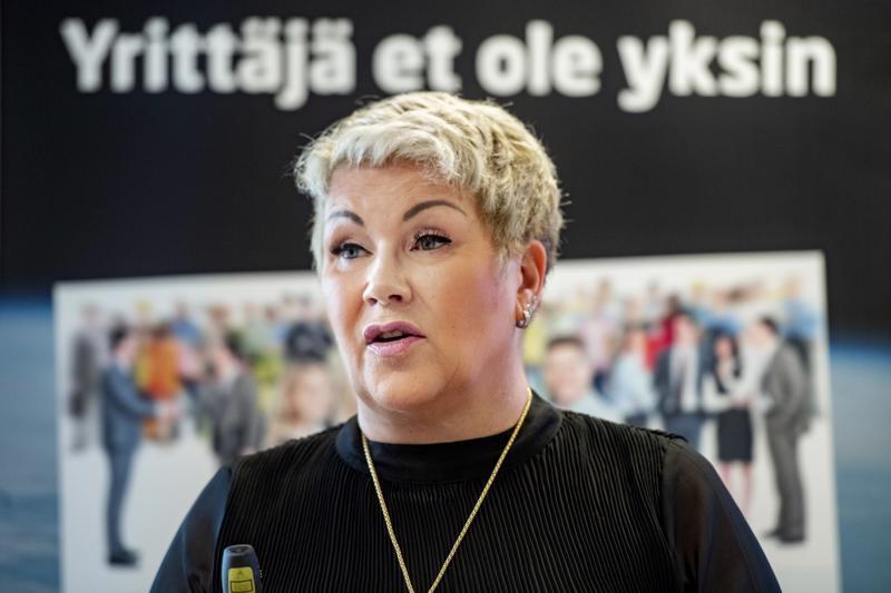 Keski-Pohjanmaan Yrittäjissä on kaikkiaan noin 2400 jäsenyritystä. Niistä useampi kuin joka kymmenes vastasi syksyn Pk-yritysbarometriin, kertoo toimitusjohtaja Mervi Järkkälä.
