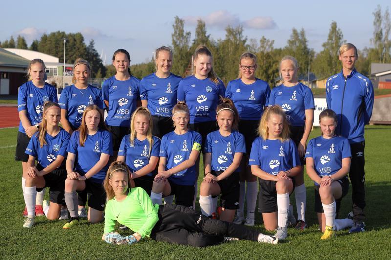 FC Folkin T14-joukkue voitti seurahistorian ensimmäisen piirimestaruuden.