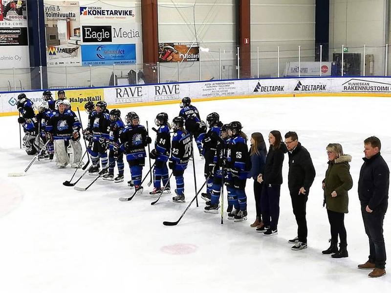 Viime vuonna YJK sijoittui naisten Suomi-sarjassa kakkoseksi.