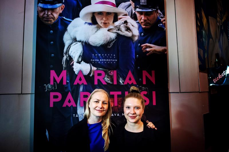 Marian paratiisin Suomen ennakkoesitys oli lauantaina Kokkolan elokuvajuhlilla. Elokuvan ohjasi  Zaida Bergroth, ja pääroolissa Salomena nähdään Satu Tuuli Karhu.