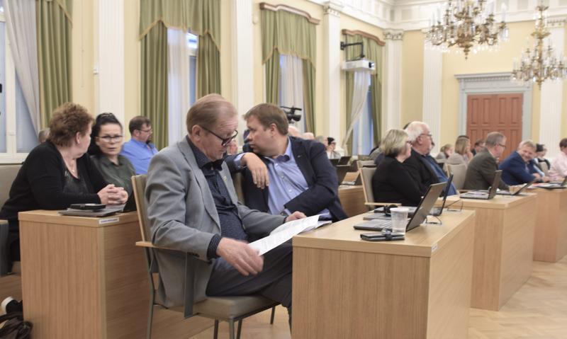 Pietarsaaren kaupunginvaltuusto käsitteli kokouksessaan Pohjanmaan hyvinvointialueen perussopimuksen luonnoksesta.
