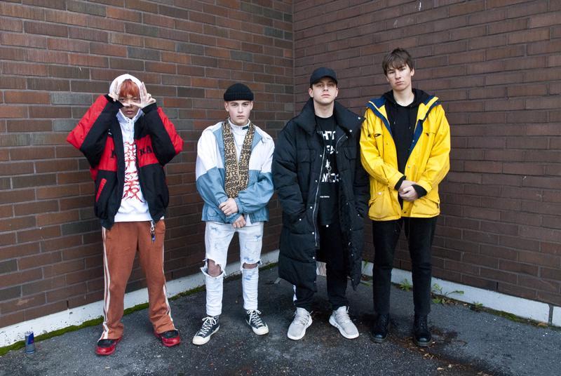 Gary Zhuang, Aadam, Seemi ja Joel Peltoniemi esiintyvät lauantaina järjestettävässä rap-tapahtumassa.