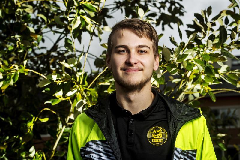 Anton Välimaalla on alkamassa kolmas liigakausi Kokkolan Tiikereissä.