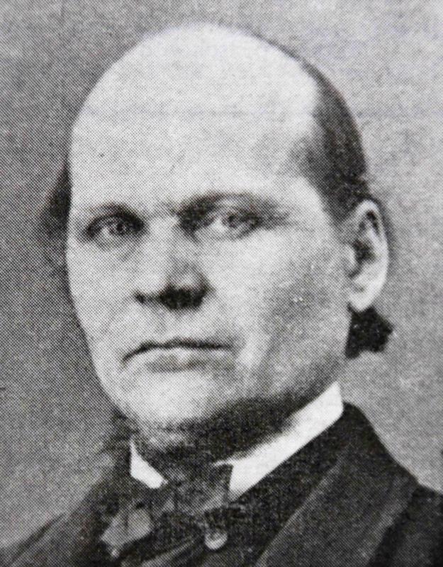 Jaakko Merenoja toimi kunnan esimiehenä nälkävuosina.