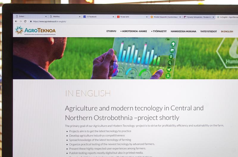 Agroteknoa Jokilaaksoihin -hankkeen pääkohdat voi nyt lukea verkosta myös englanniksi.