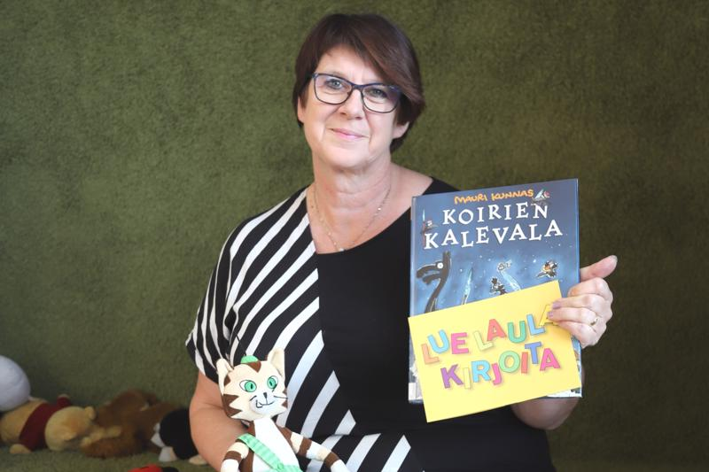Kalajoen kulttuuri- ja vapaa-aikajohtaja Anita Ohtamaa sanoo, että lasten kulttuuriverkoston avulla alueen kaikkiin kuntiin pystytään tarjoamaan entistä kattavammin lasten kulttuuria.