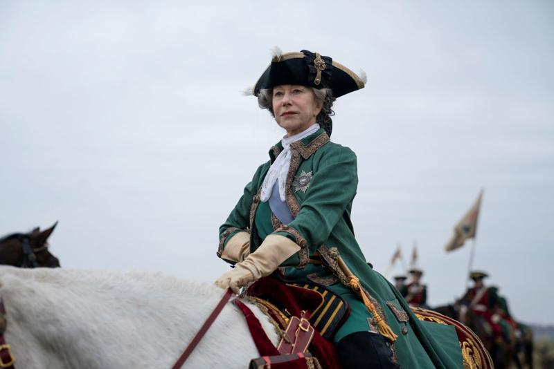 Katariina Suuri oli maailmanhistorian vaikutusvaltaisimpia naisia. Helen Mirren on kuin luotu esittämään Venäjän keisarinnaa.