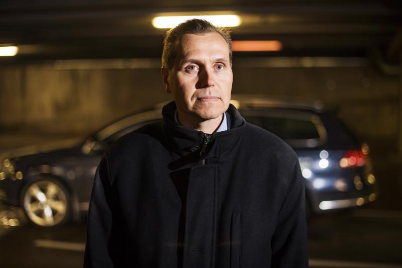 Jan-Ove Nyman hankki ensin kaasuauton ja päätti sitten rakentaa tankkausaseman Kruunupyyhyn.