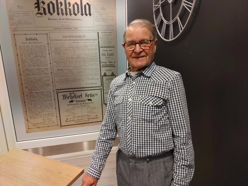 Jukki Lindqvist pääsi pienenä poikana ratsastamaan Maria Åkerblomin kanssa Helsingin Töölössä.