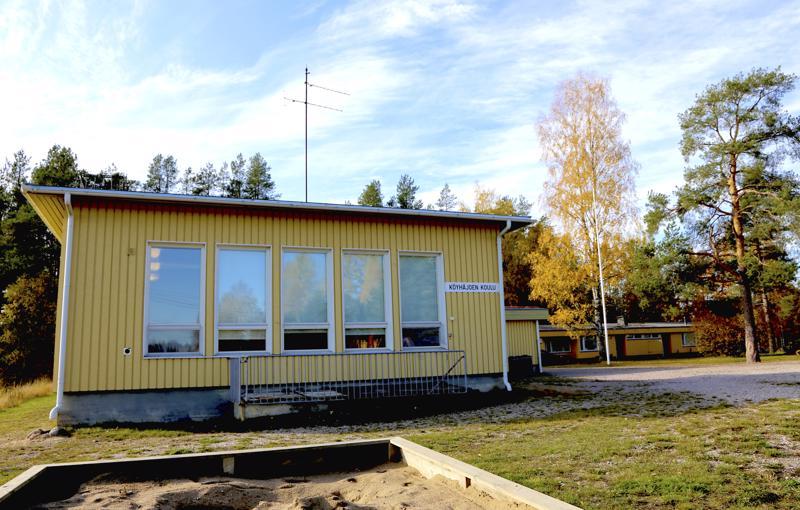 Köyhäjoen koulu valmistui vuonna 1963.