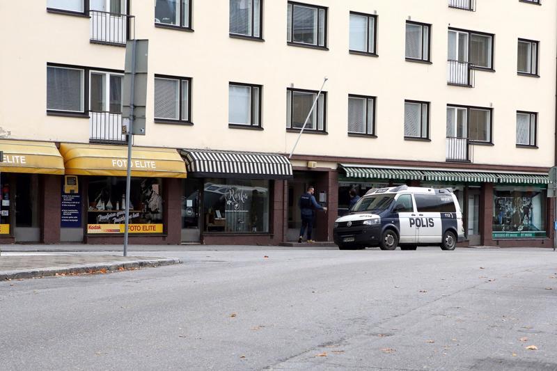 Henkirikos tapahtui Pietarsaaren Isollakadulla sijaitsevassa City-talossa.