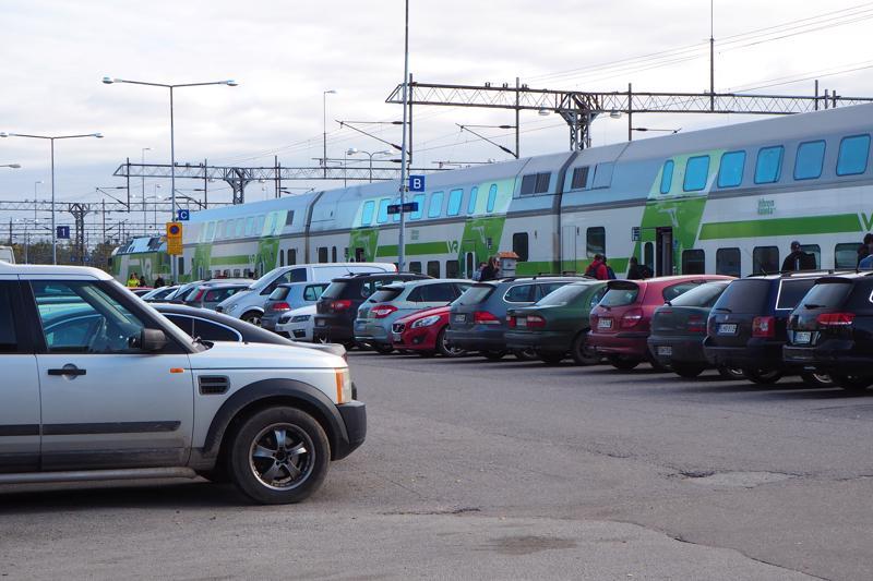 Kokkolan Rautatieaseman pohjoinen pysäköintialue menee remonttiin.
