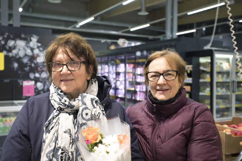Irma Ojala ja Tuulikki Lehtomäki
