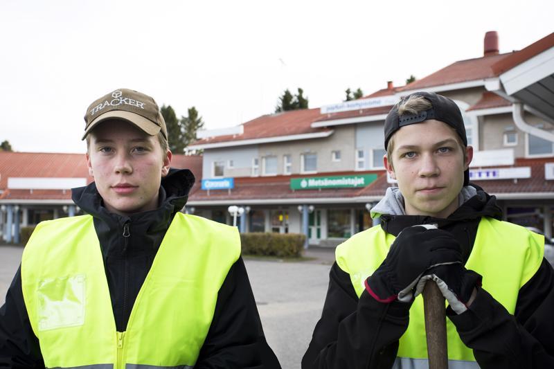 Niko Jyrkkä ja Antti Hietala