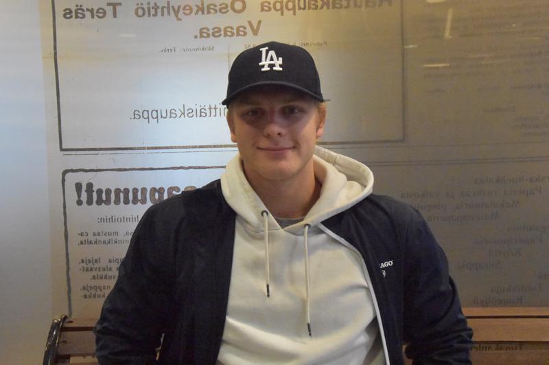 Porilainen Juuso Ketola tuli Kokkolaan kehittymään pelaajana.