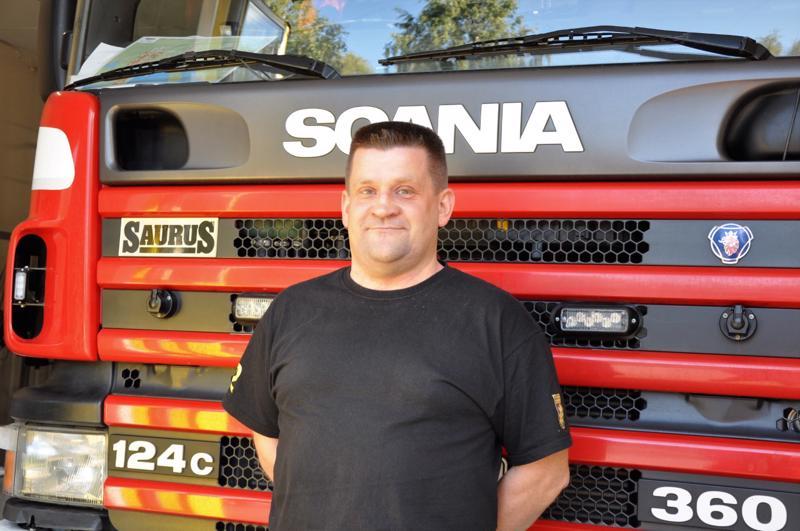Jani Kultala olisi mieluusti ammattipalomies, mutta toiminta vpk-laisena tyydyttää auttamisen halun.