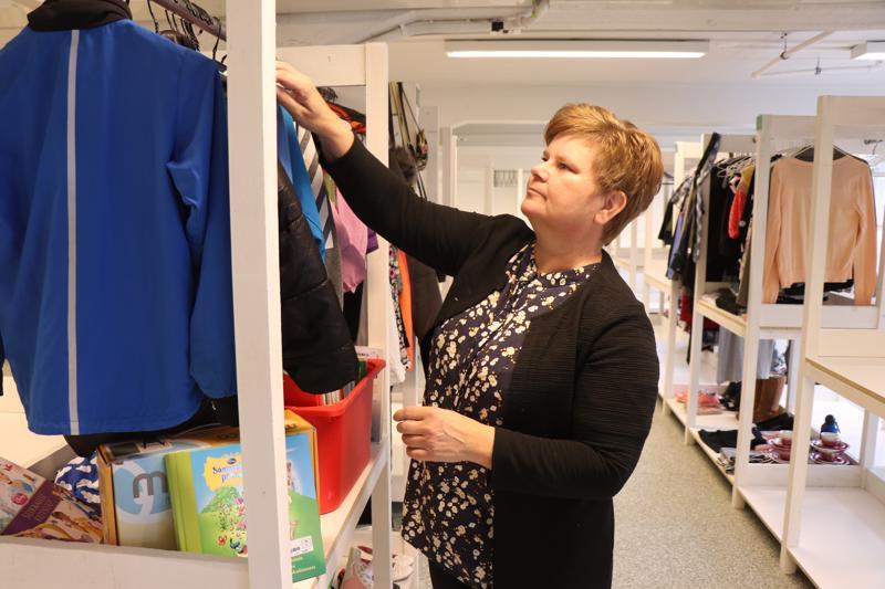 Maria Brännkärrin kirpputorilla on yhteensä 51 loosia, jota voi vuokrata omille tavaroilleen.