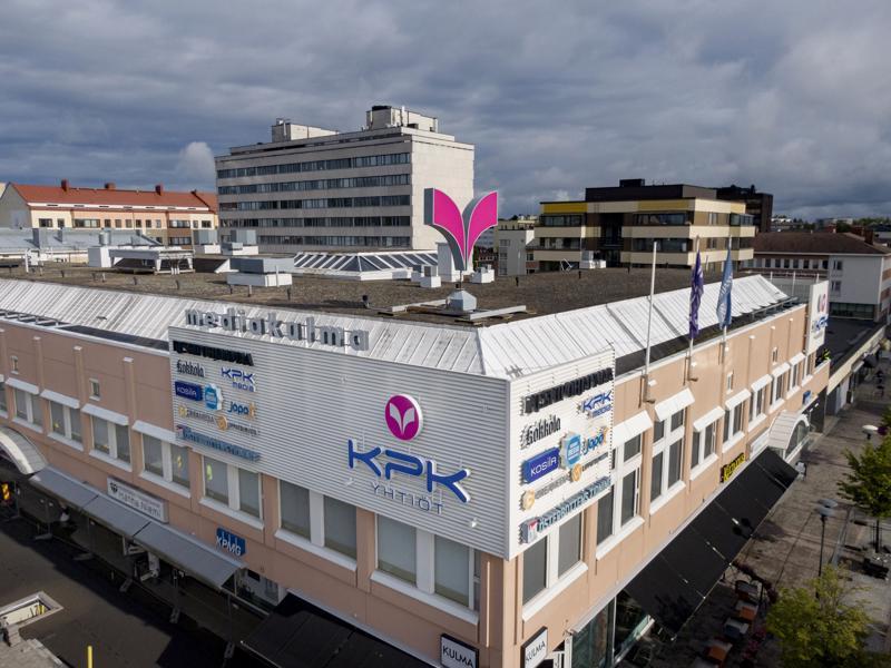Kokkolassa KPK Yhtiöt toimii muun muassa Mediakulmassa Rantakadulla.
