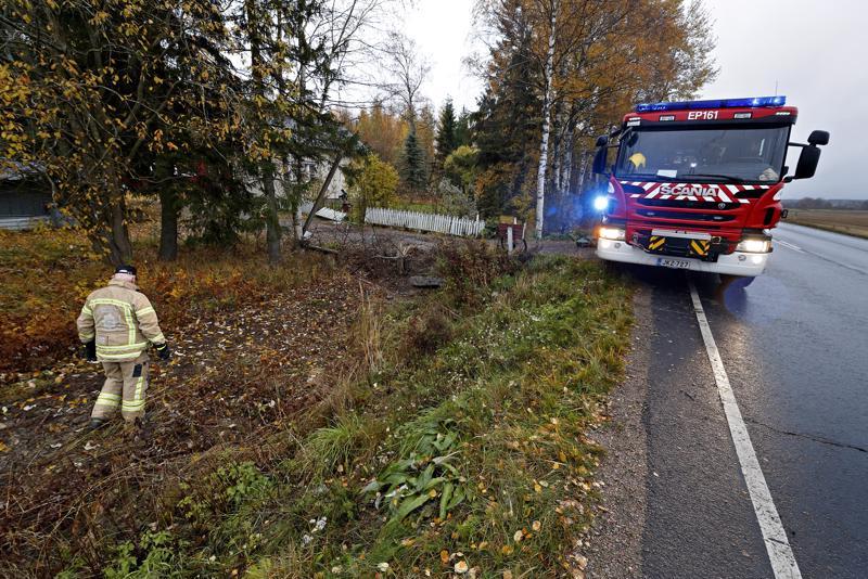 Onnettomuus tapahtui noin 8 kilometriä ennen Jalasjärven keskustaa.