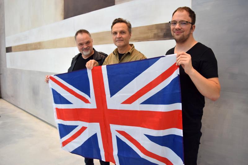 Charles Plogman, Bo-Anders Sandström ja Anton Plogman ovat vannoutuneita brittiläisen progressiivisen rockin faneja.