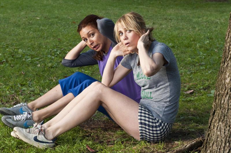 Maya Rudolph ja Kristen Wiig kuntoilevat viikonlopun varalta.