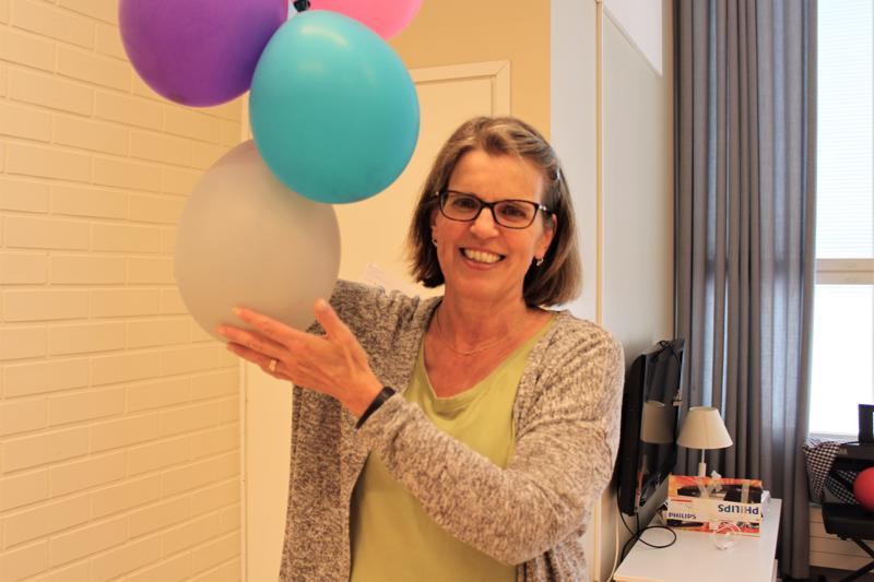 Pietarsaarelainen lastenhoitaja Eija Yli-Saari-Salminen on työskennellyt lastenhoitajana jo 37 vuoden ajan.