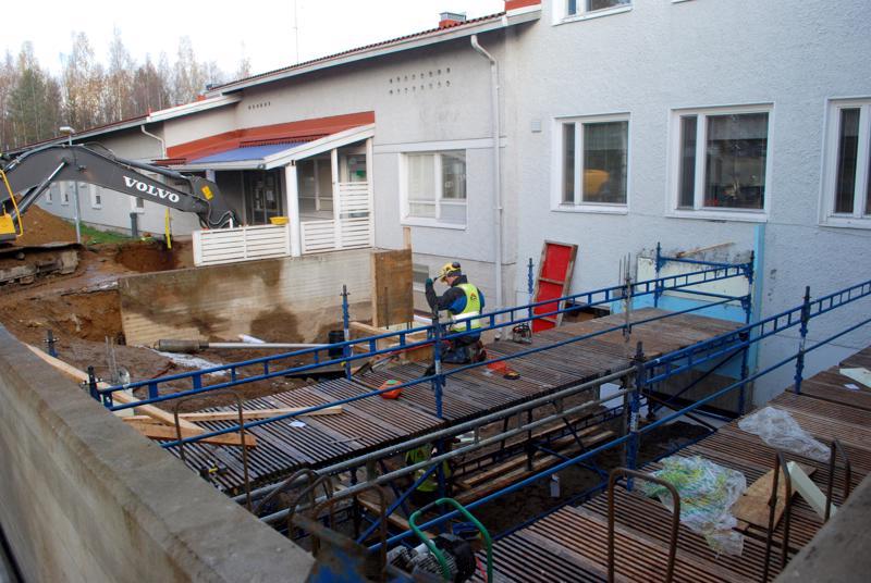 Terveyskeskukseen tehtiin liki viiden miljoonan euron remonttia, joka piti sisällään myös kaksi laajennusosaa.