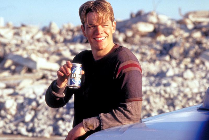 Amerikanserkku Matt Damon.