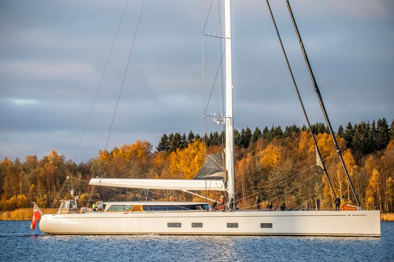 Baltic Yacthsin uusin loistojahti Baltic 142 Canova jätti kotisatamansa Pietarsaaressa ja lähti seilaamaan maailman meriä.
