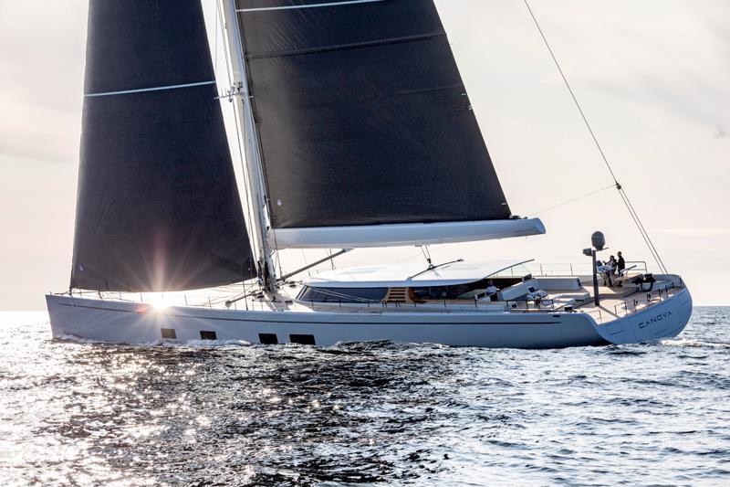Canova on suunniteltu tehokkaaksi, nopeaksi ja helposti käsiteltäväksi veneeksi.