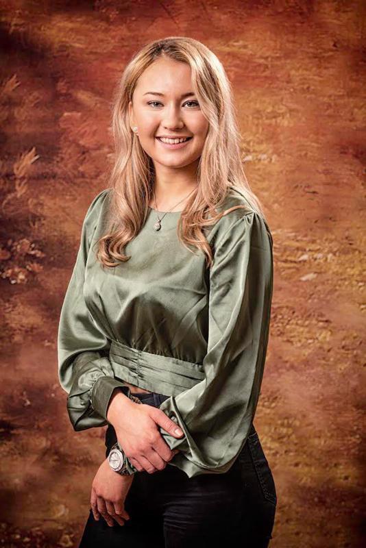 Moa Björklund sanoo Lucia-ehdokkuuden olevan hauska kokemus.