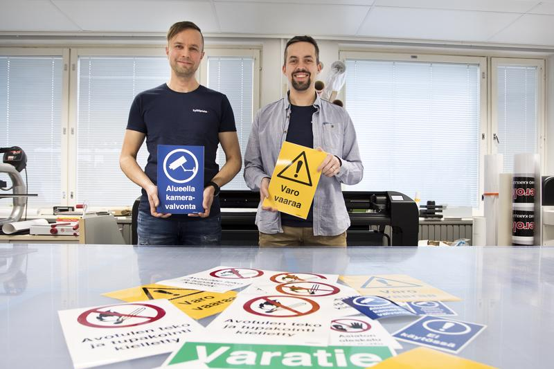 Yrittäjät Tomi Tirri ja Mika Liias yhdistivät voimansa ja perustivat yhteisen yrityksen omiensa rinnalle.