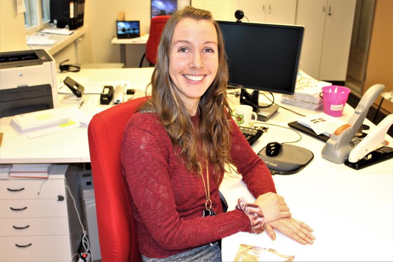 Pietarsaarelaiselle Johanna Reitille palkitsevinta opintoneuvojan työssä on ihmisten auttaminen.