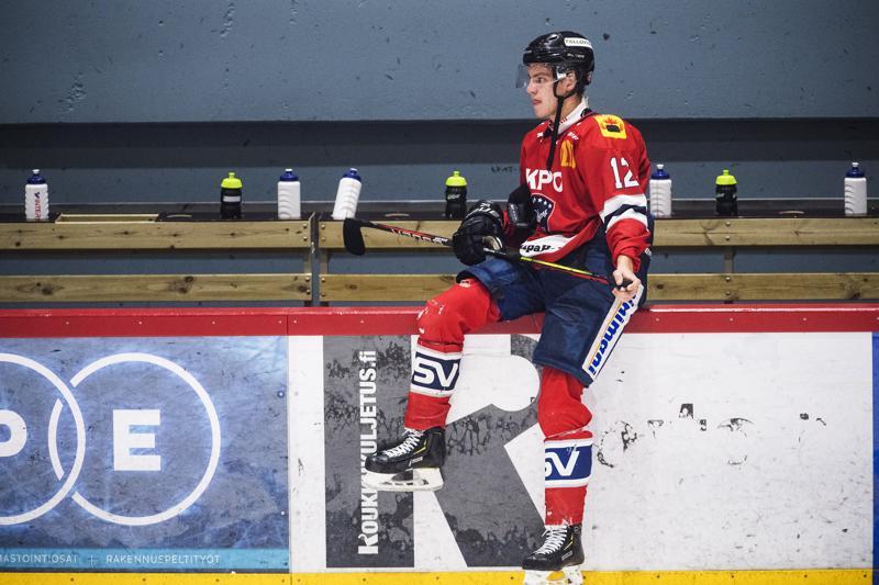 Heikki Harju teki Hermeksen toinen maalin Keuruulla.