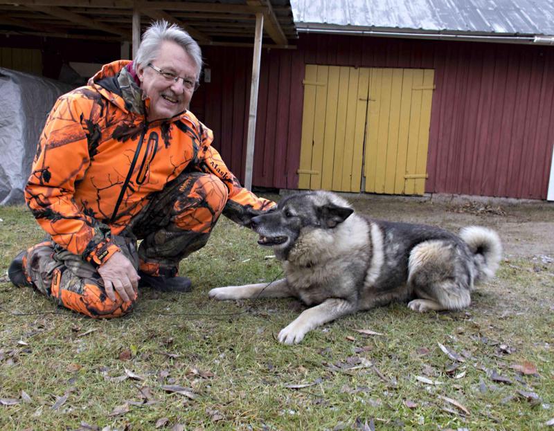 Taisto ja Ripa ovat olleet metsästyskavereita jo kymmenen vuotta.