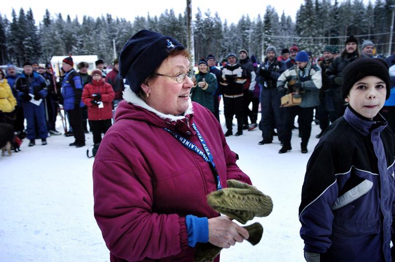 Helena Takalo toimii synnyinkaupunkinsa maakuntaviestin suojelijana.